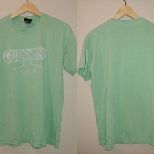 Official Guinness Distressed Clover St. Patrick M